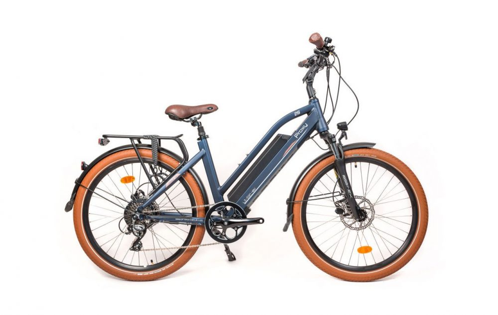 Electric bicycle picture